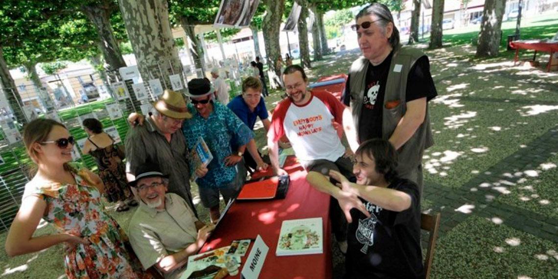 Bienvenue au Festival de Dessins d'Humour à Labouheyre (40)